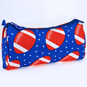 luggage 1008 cosmetic pouch football royal blue