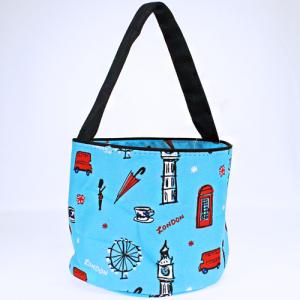 luggage 1010 London bucket bag light blue multi
