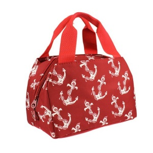 luggage 8010 lunch box anchor red