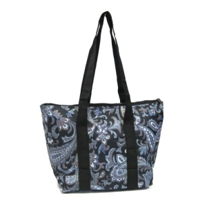 luggage AK lunch bag C15 1001 blue paisley