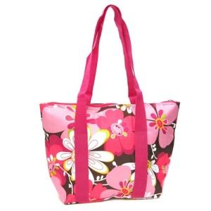 luggage AK lunch bag C15 1004 pink flower