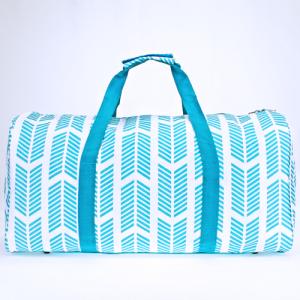 luggage ak NDN 22 round duffle bag arrow turquoise white