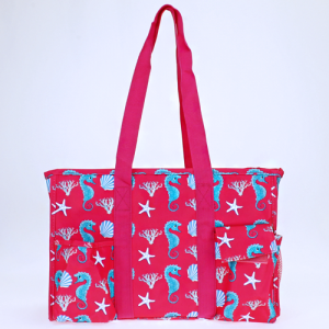 luggage ak NT19 32 utility bag sea horse fuchsia turquoise