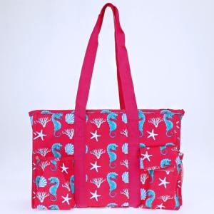luggage ak NT19 32 utility bag sea horse fuchsia turquoise
