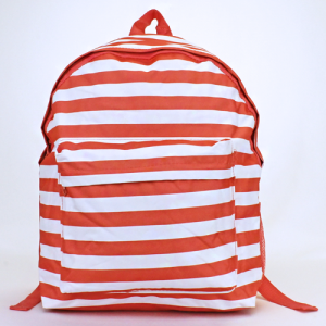 luggage ak backpack b 8 23 nautical stripe coral white