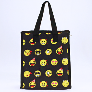 luggage ak ncc18 50 lunch box emoji black