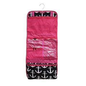luggage cb 706 CK cosmetic bag anchor black white fuchsia