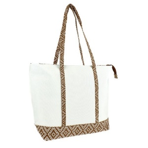 luggage st20 5003 CK canvas aztec tote brown
