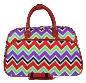 luggage YH f 2014 170 travel duffle bag chevron multi RED