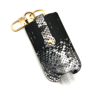 Hand Sanitizer Keychain 080 snake black large
