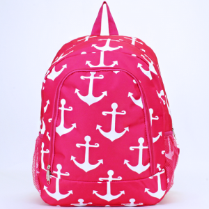 luggage ak backpack NBN A P simple anchor fuchsia