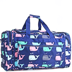 luggage ND22 27 BL duffle bag whale multi navy