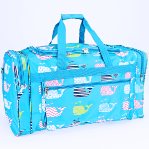 luggage ND22 27 TO duffle bag whale multi turquoise