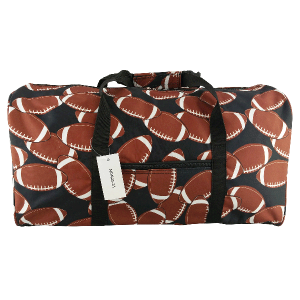 luggage AK NDN 31 round duffle bag football black