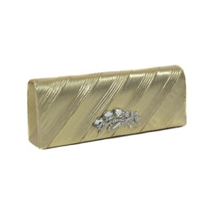 ni slg 303 evening clutch gold