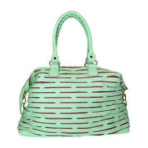 pz 250 handbag laser cut mint