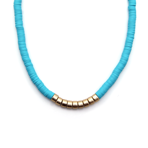 Necklace 921a 78 A Project contemporary minimal necklace gold mint
