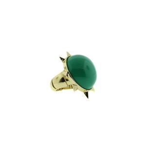 ring 1362g 65 sun stone green gold