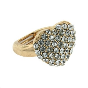 ring 215a 65 heart crystal gold