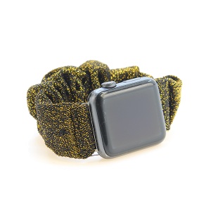 Watch Band 148 08 scrunchie watch band 38mm 40mm gold