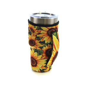Tumbler Sleeve 049 12 Tipi sunflower