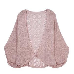 Shawl 416c 30 Crochet Cardigan lilac