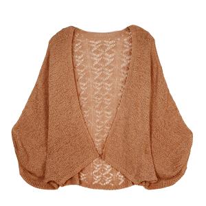 Shawl 265c 30 Crochet Cardigan rust