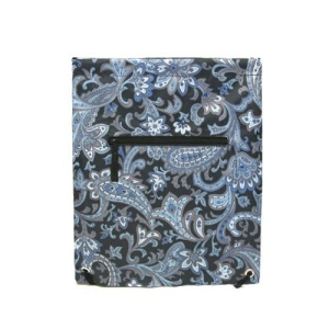 sling bag backpack b6 1001 AK paisley blue