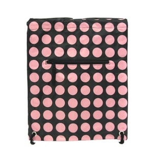 sling bag backpack b 6 811 polka dots black pink