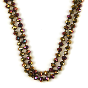 Necklace 745 22 No. 3 30 60 inch bead necklace bz205