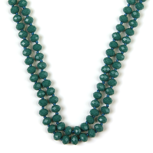 Necklace 742 22 No. 3 30 60 inch bead necklace tq167