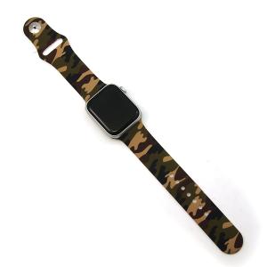 Watch Band 030e 08 38mm 40mm watch band camo green