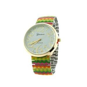 watch 048d 08 9052 stretch chevron multi