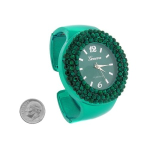 watch 125e 08 3346 cuff crystals turquoise