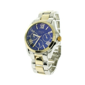 watch 148f 08 round roman numerals blue two tone