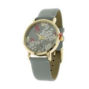watch 190f 08 9819 floral gray gold