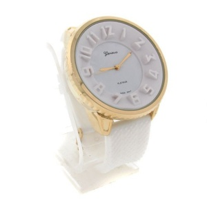 watch 408a 08 lg rubber round white gold