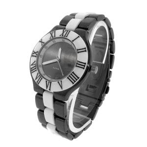 watch 466a 08 link round gunmetal white