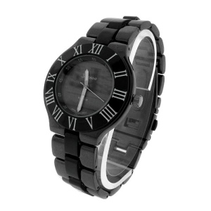 watch 564 08 link round gunmetal black