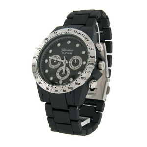 watch 616 08 link round crystal gray silver