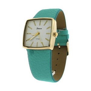 watch 811 08 square metal gold mint
