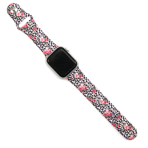 Watch Band 009 08 leopard rose watch band 42mm 44mm