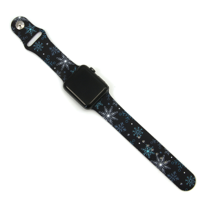 Watch Band 100c snowflakes watch band 42mm 44mm
