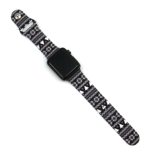 Watch Band 038b christmas watch band pixel 38mm 40mm