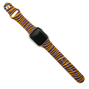 Watch Band 186 08 purple gold tiger watch band 42mm 44mm