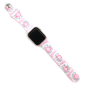 Watch Band 203 08 tie dye pink watch band 38mm 40mm
