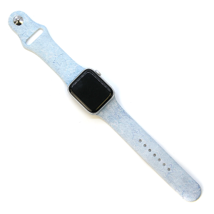 Watch Band 110a 08 Blue Stars Watch Band 38mm 40mm