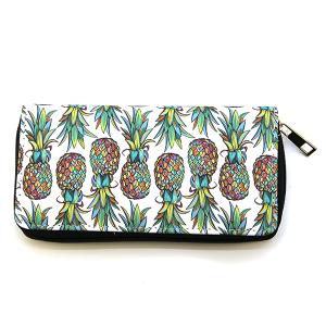 Bijorca Zipper Wallet Pineapple white
