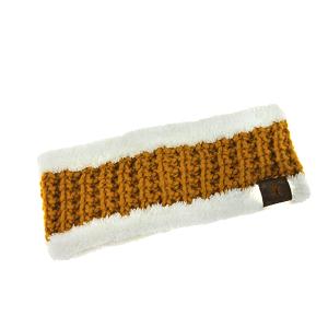 Winter CC 285A headband weave yellow/white