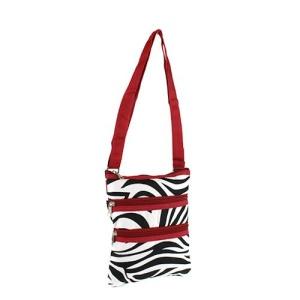 yh 003 163 messenger bag zebra red